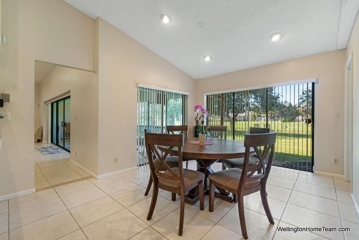 13459 Barberry Drive Wellington Florida 33414 - Breakfast Area