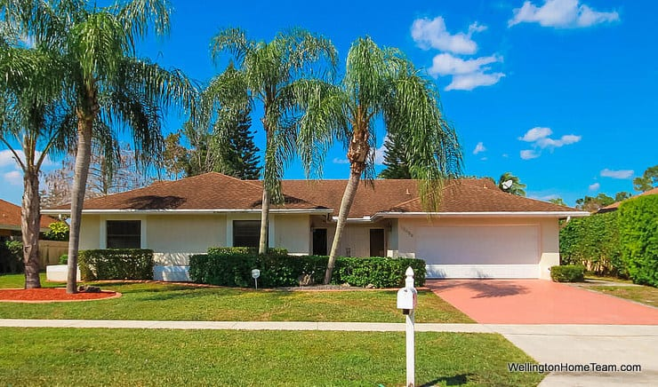 13459 Barberry Drive Wellington Florida 33414 - Sugar Pond Manor Waterfront Home