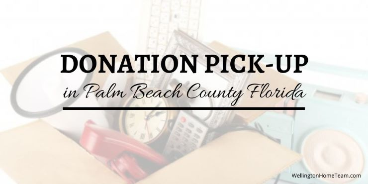Free Donation Pick-Up in Palm Beach County Florida