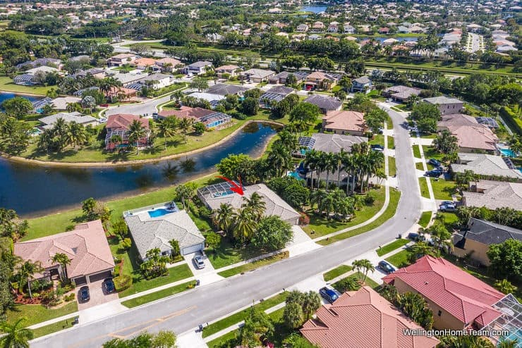 11715 Waterbend Court Wellington Florida 33414 - Aerial