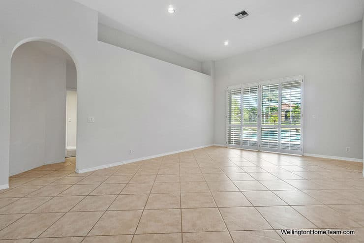 11715 Waterbend Court Wellington Florida 33414 - Living Room