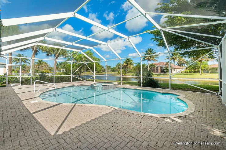 11715 Waterbend Court Wellington Florida 33414 - Pool