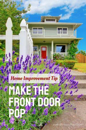 2020 Beginner Guide - Appealing Home Improvement DIY Tips and Tricks - Make the Front Door Pop