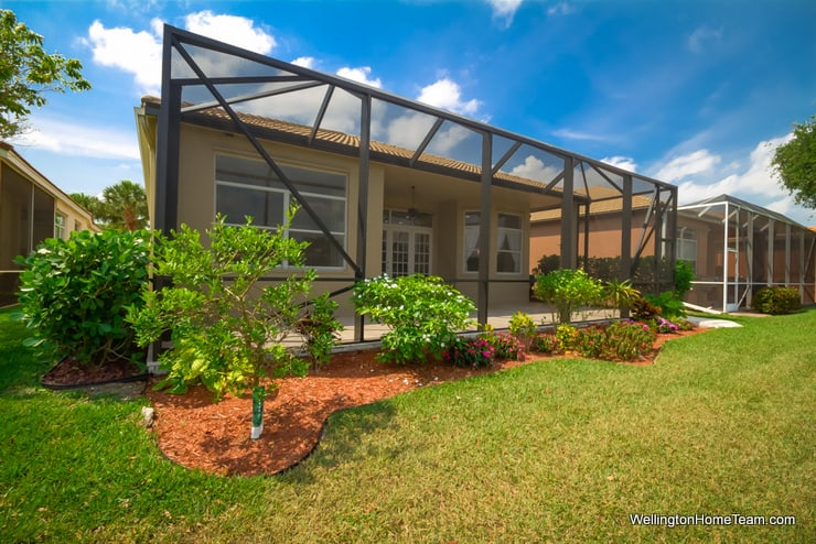 Buena Vida Waterfront Home for Rent in Wellington Florida - 8661 Via Grande East