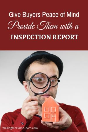 Should a Seller Get a Home Inspection Before Listing - Provide Home Inspection Report