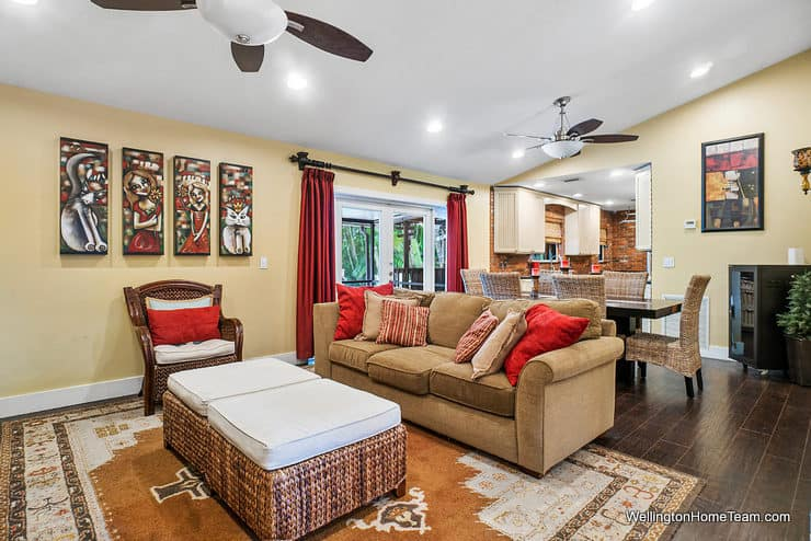 1250 Belmore Terrace Wellington Florida - Family Room