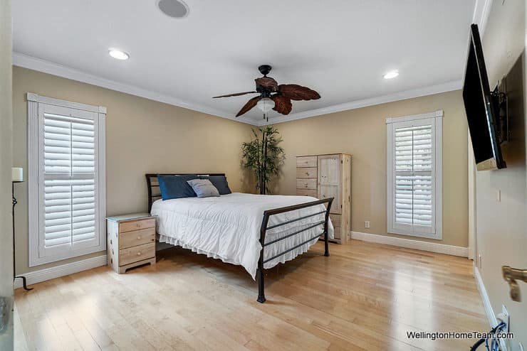 1250 Belmore Terrace Wellington Florida - Master Bedroom