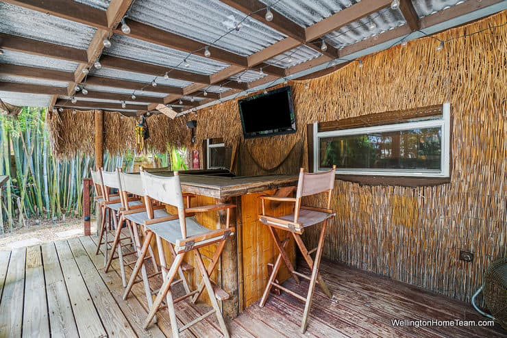 1250 Belmore Terrace Wellington Florida - Tiki Bar