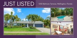 Eastwood Pool Home for Sale | 1250 Bellmore Terrace, Wellington Florida 33414