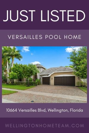 Versailles Luxury Pool Home for Sale | 10664 Versailles Blvd Wellington FL