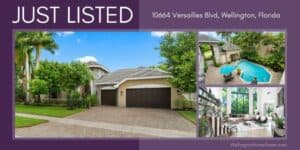 Versailles Luxury Pool Home for Sale - 10664 Versailles Blvd Wellington FL 33449
