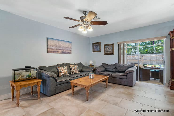 Eastwood Pool Home for Sale in Wellington Florida - 1251 Larch Way - Family Room