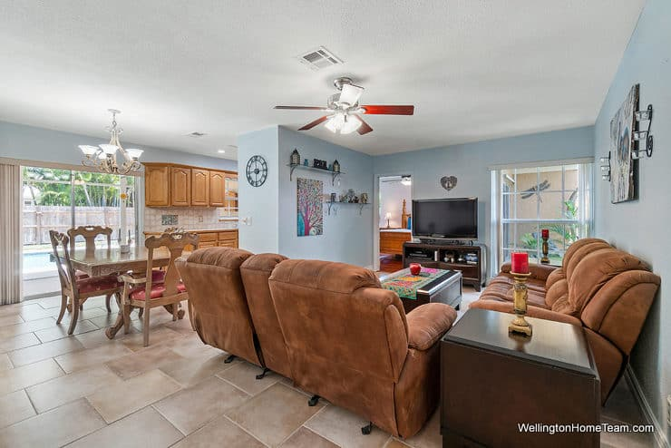 Eastwood Pool Home for Sale in Wellington Florida - 1251 Larch Way - Family
