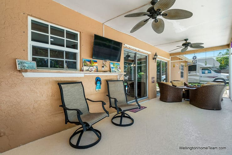 Eastwood Pool Home for Sale in Wellington Florida - 1251 Larch Way - Patio