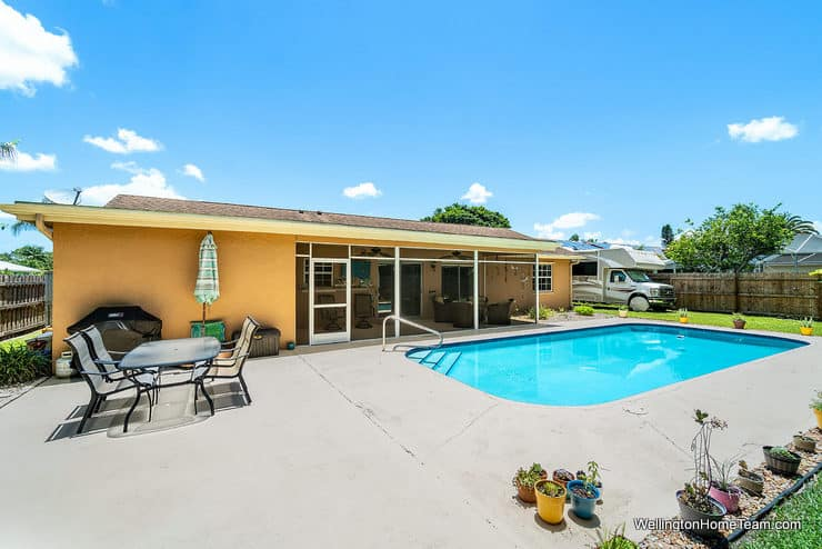 Eastwood Pool Home for Sale in Wellington Florida - 1251 Larch Way - Pool