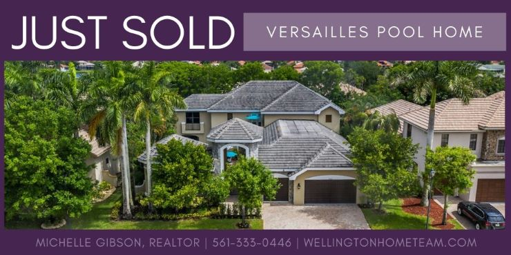 Versailles Luxury Home SOLD! 10664 Versailles Blvd, Wellington, Florida 33449