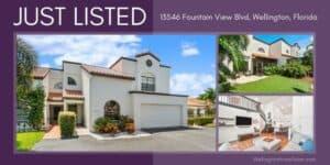 Wellington Place Seasonal Rental 13546 Fountain View Blvd, Wellington, Florida 33414