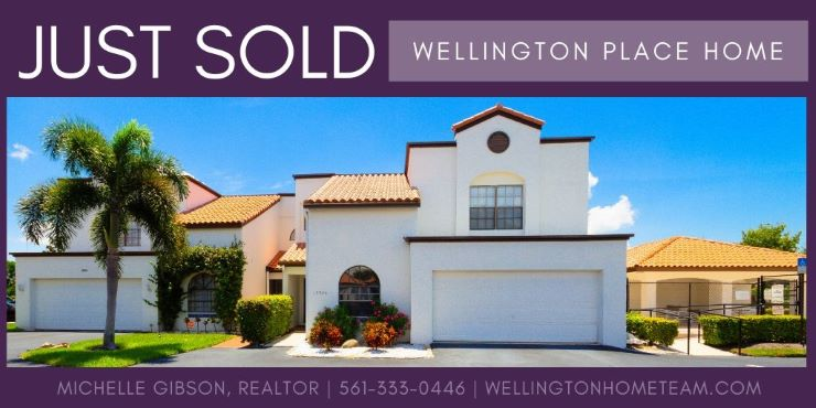 Wellington Place Townhome SOLD! 13546 Fountain View Blvd Wellington Florida 33414