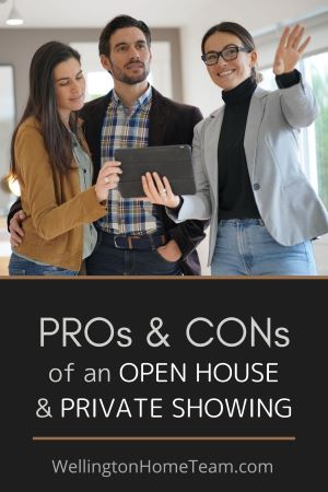 The two most popular ways for buyers to view homes for sale is through an open house or private showing, but which one is better for the seller?