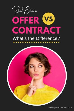 Real Estate Offer VS Contract: What's the Difference?