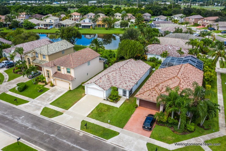 Grand Isles Home for Sale in Wellington Florida - 11477 Beacon Point Lane Aerial