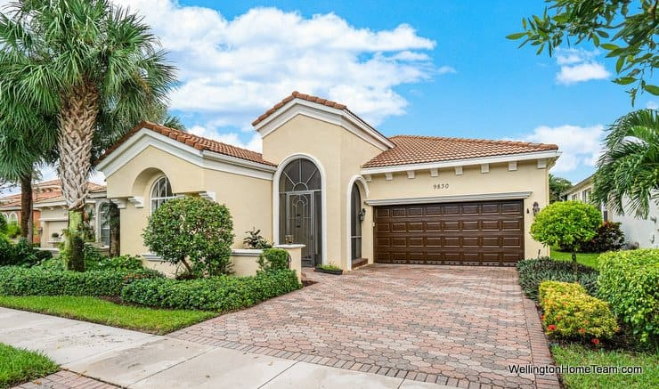 Buena Vida Home for Sale in Wellington Florida -9830 Via Elegante