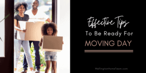 Effective Tips To Be Ready For Moving Day