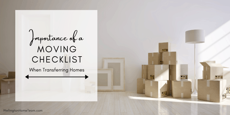 Importance Of Having A Moving Checklist Before Transferring Homes