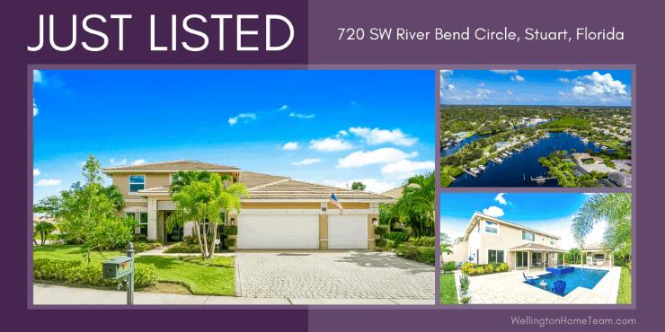 Lost River Bend Home for Sale in Stuart FL 720 SW River Bend Cir